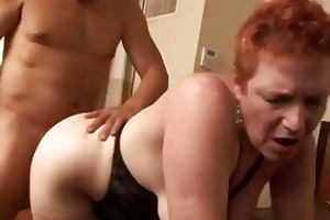 cheating redhead mother i susan screwed ribald in