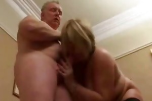 excited british big beautiful woman housewife
