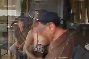 hubby loved to watch his wife sucked and got