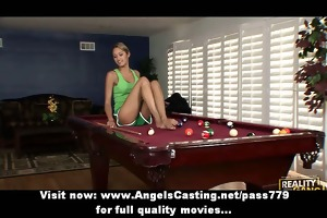 non-professional worthwhile blonde angel with big
