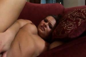 katja kassin rubs her clitoris whilst she is