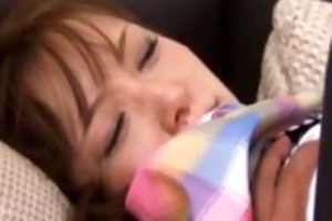 aged japanese milf oriental acquires blowjob