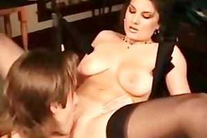 pair playing with sex swing