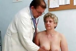 aged ruzena gyno fetish clinic...