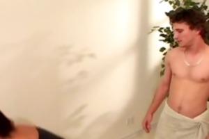 lustful milf copulates youthful dudes