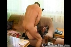 concupiscent housewife receives group-fucked