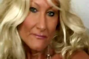 blonde granny roxy fontaine