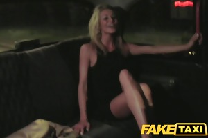 faketaxi street escort can to engulf wang
