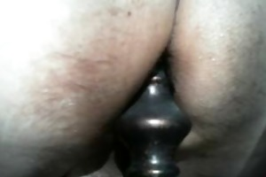older anal insertion home alone