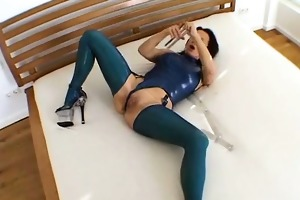 large sexy wicked latex aged explicit makeout