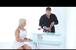 puremature luscious blonde wife has consummate