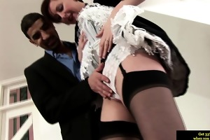 spruce british mother i maid giving oral job