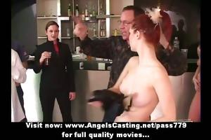 beautifull amateur appealing babes dancing and