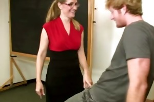 he is acquires a hard lesson from his excited