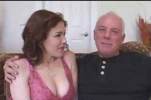 breasty wife fucking darksome stud