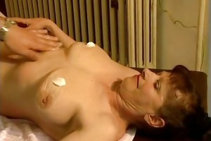 favourable lad gets his large cock sucked part4