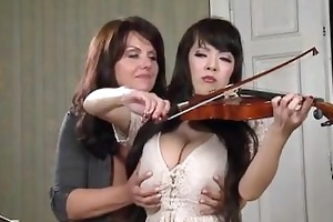 breasty music teacher
