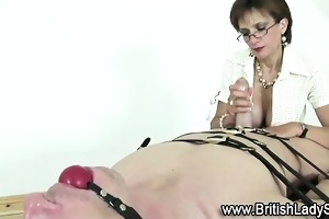 british stocking mother i blowjob