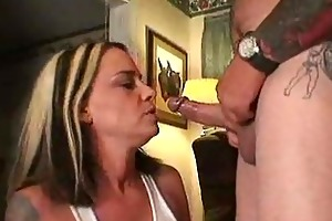 marvelous mother i sucking the jock of a tattooed