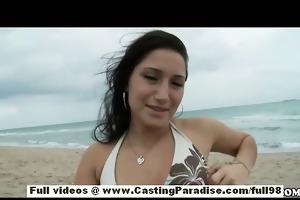 sasha alluring teen girlfriend with large arse