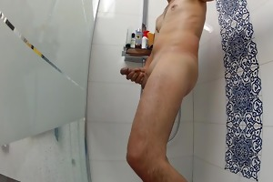 thinking of my wife - and masturbating below the