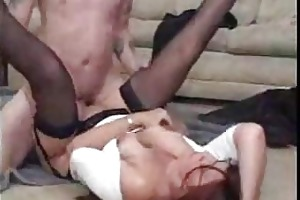 mamas and boyz acquire into hardcore stocking sex