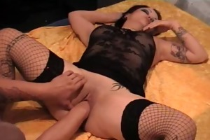 brutal anal and vaginal fist drilled
