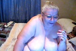 smokin on web camera