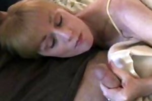 melanie drains a small in number dicks