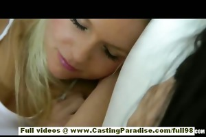 natalia rogue and aiden ashley golden-haired and
