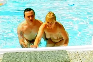 still hot and swimming naked at 50 [clip]