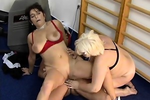 wicked aged strumpets go eager engulfing