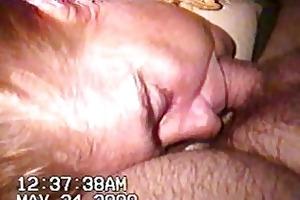 sleeping wife gives head