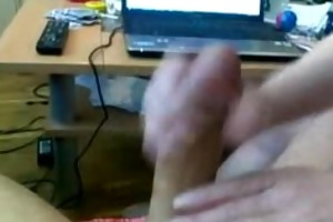 hubby with large rod acquires valuable tugjob