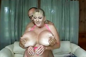 huge d like to fuck juggs in hot titjob and
