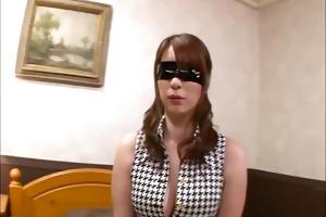 large titty araki is bound and blindfolded