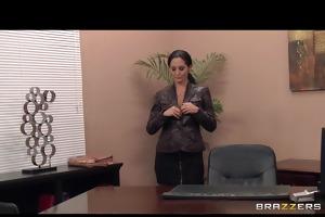 sexy breasty dark brown d like to fuck secretary