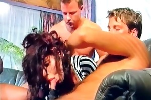 sexy and excellent milf got team-fucked hardly
