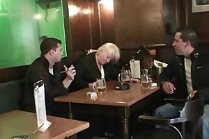 men fuck completely boozed granny