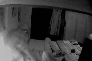 spy footage fingering housewife